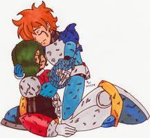 OC-tober - Megaman AU by Aisuryuu