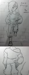 Teen Sketch Ref - Zero - by Aisuryuu