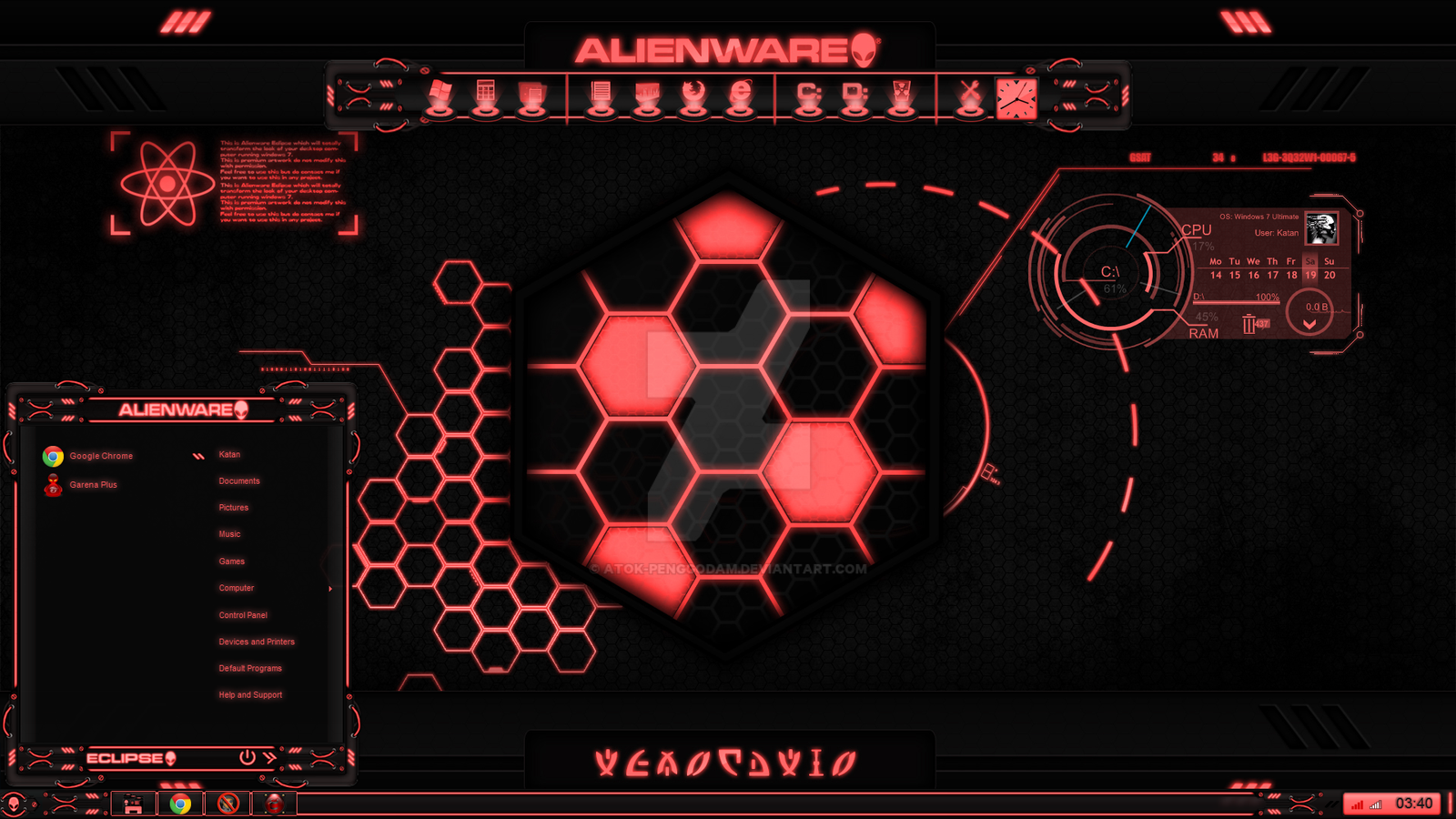 Alienware eclipse red by atok penggodam on deviantart alienware eclipse red by atok penggodam voltagebd Choice Image