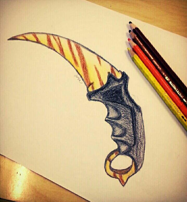 Tiger Tooth by WoodiVillage
