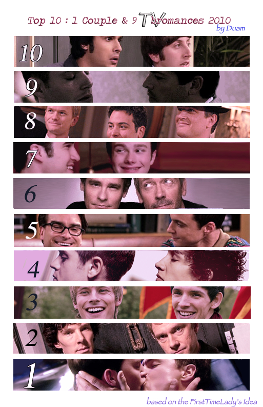 Top 10 2010's TV Bromances by duamdrallibor