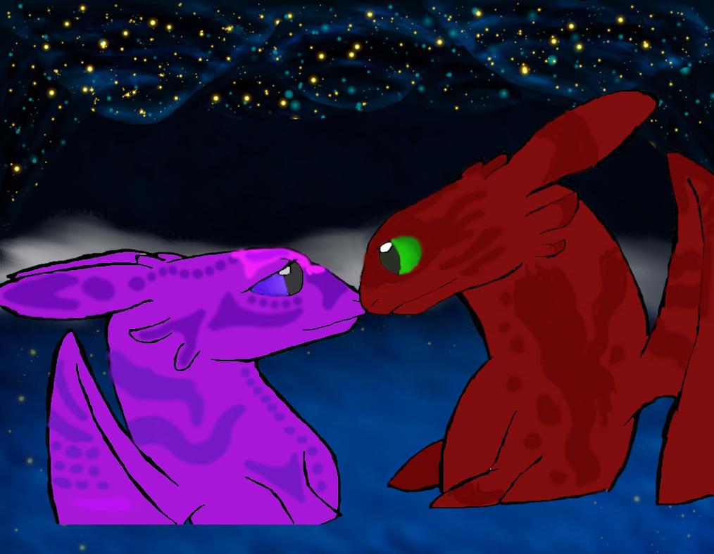 Aaron and Vivi by Zionsaurus