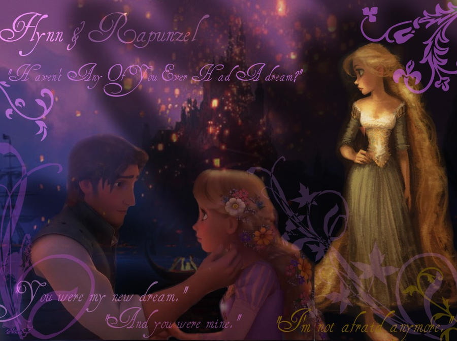 Tangled Wallpaper by PheonixLight on
