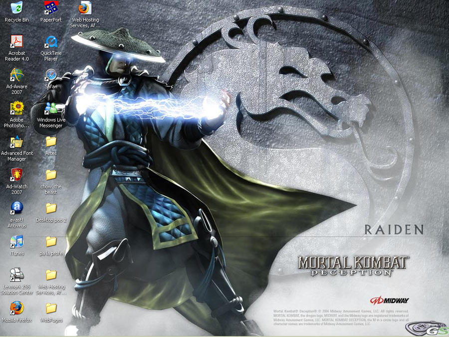 Raiden ScreenShot by MOtero
