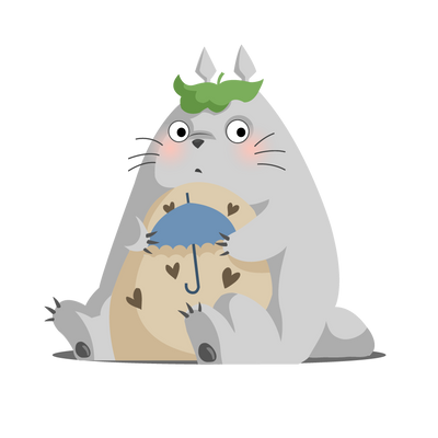 Totoro by AutomneFold