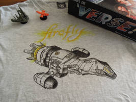Firefly T-shirt by Blueberri2357