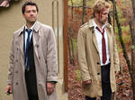 Cass and John- Bringing Back the Trench coat