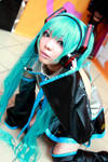 Vocaloids:  Hatsune Miku