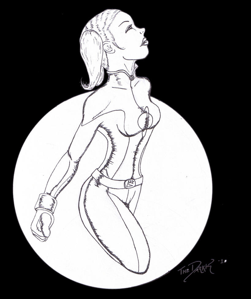 Saturn Girl Darkk by TheDarkk13