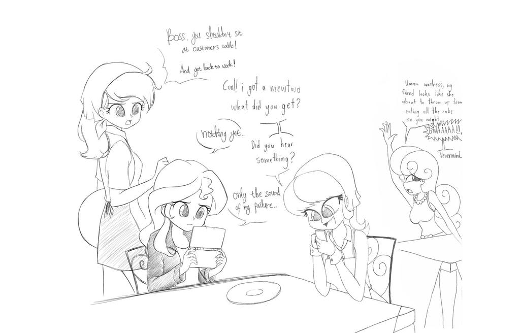 Collab Sketch with twilite-sparkle by TheWanderer93