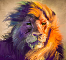 Aslan the Great Lion