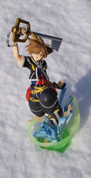 Sora and  snow by junoide
