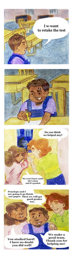 DON'T MISS THE BUS - MINI COMIC - PAGE 6 OF 6