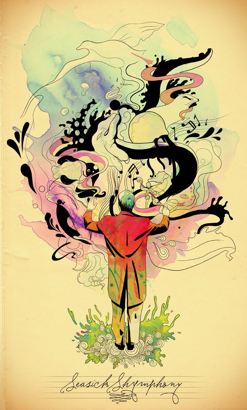 SeaSick Shymphony by mathiole