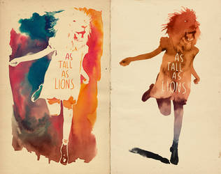 As tall as lions by mathiole