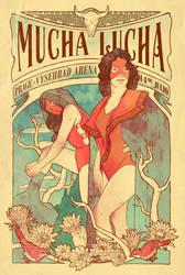 Mucha Lucha by mathiole