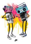 Nike Robot Dance