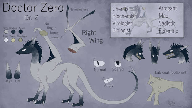 Doctor Zero Reference Sheet (OUTDATED)