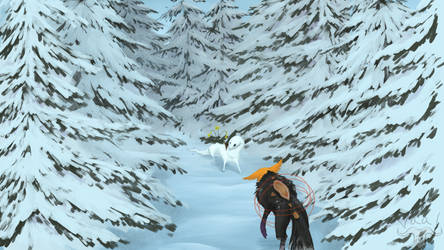 Hollow's Journey pt. 1 : Snow Forest