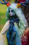 OOAK Ghoulia Yelps - Samhain Dryad Mother Tree