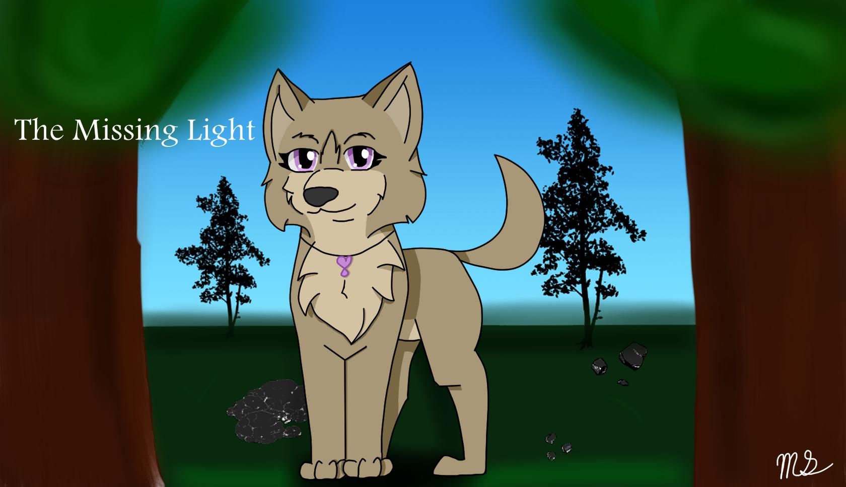 The Missing Light Fan ARt by drawingwolf17