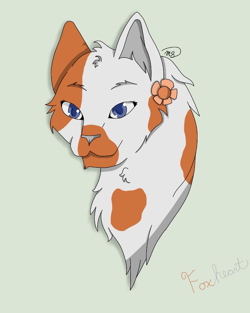 Foxheart by drawingwolf17