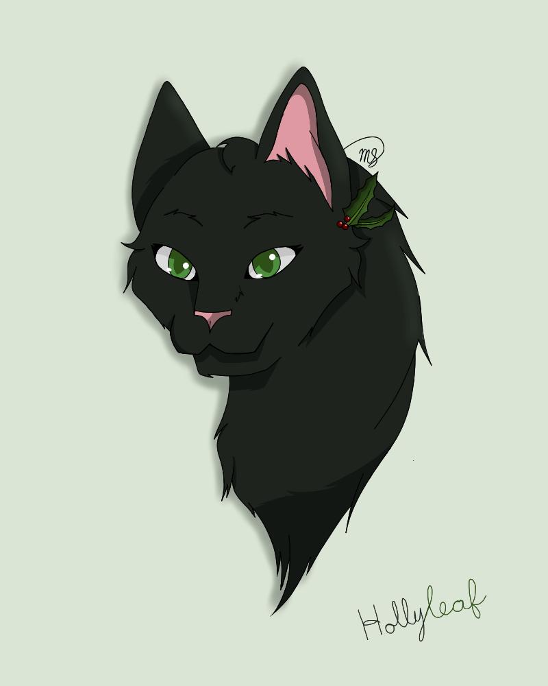 Hollyleaf (Request) by drawingwolf17