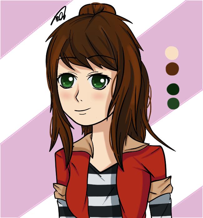 Emma- OC by drawingwolf17
