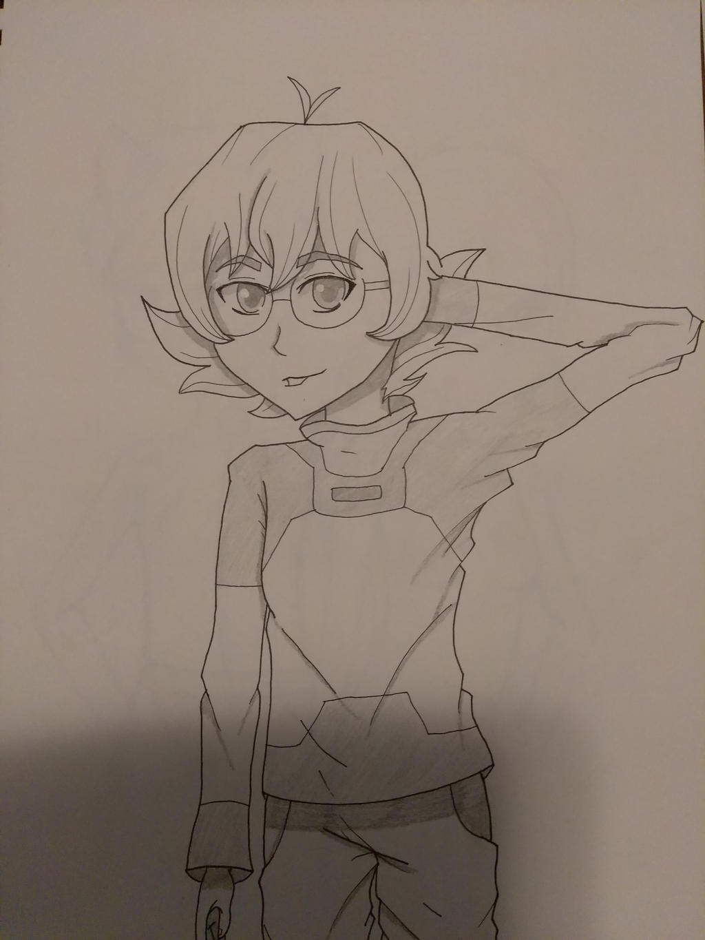 Pidge- Voltron by drawingwolf17