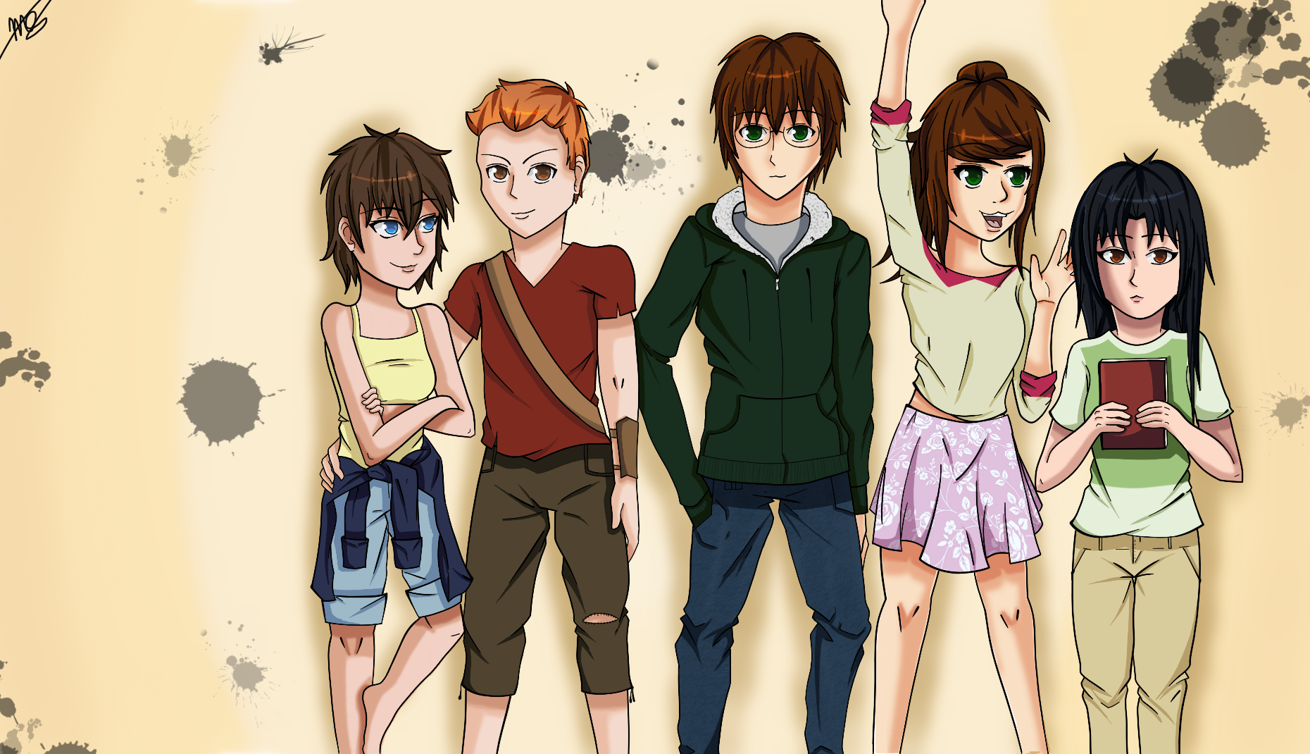 Character mural by drawingwolf17 on deviantart for Character mural