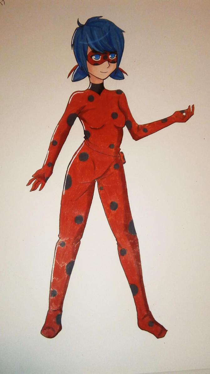 Ladybug by drawingwolf17