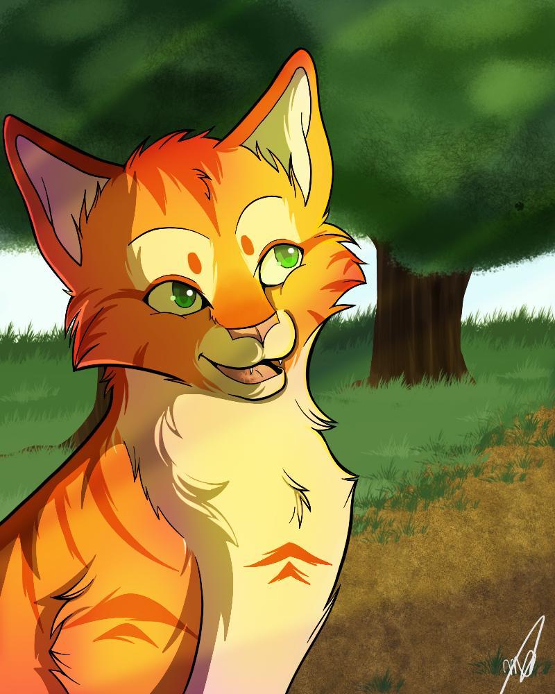 Firestar by drawingwolf17