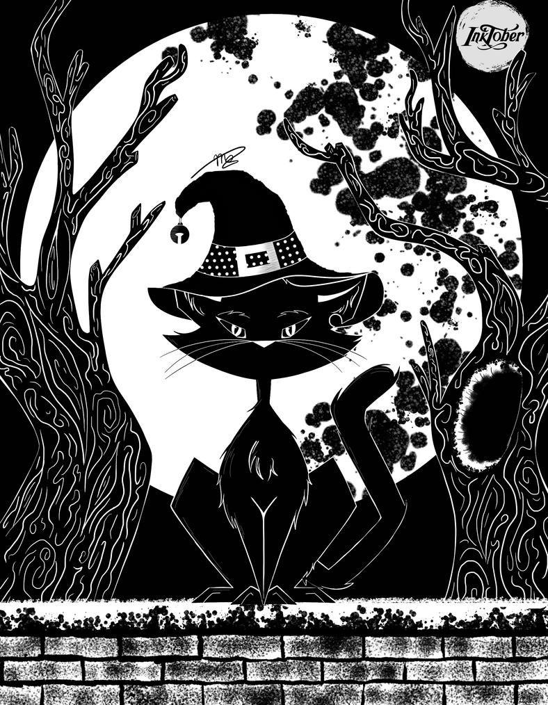 Inktober by drawingwolf17