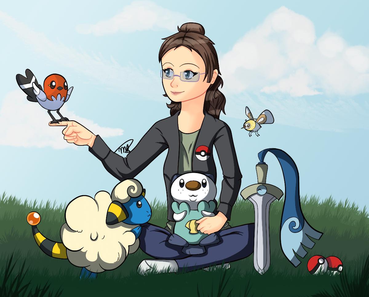 Pokemon Team by drawingwolf17
