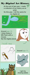 Digital Art History by drawingwolf17