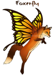 Foxerfly - Auction - OPEN by BluuLeopard