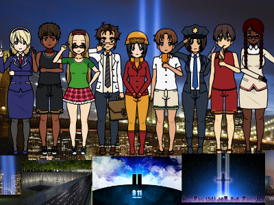 Remember September 11th 2001 by HirikoItoChan