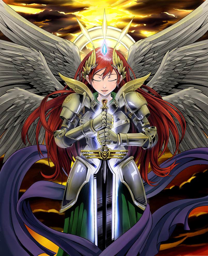 Gaurdian Angel by yazukiwolf