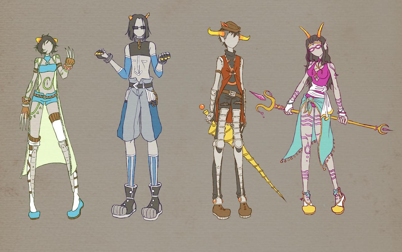 .hackstuck designs 2 final by kerii-tan