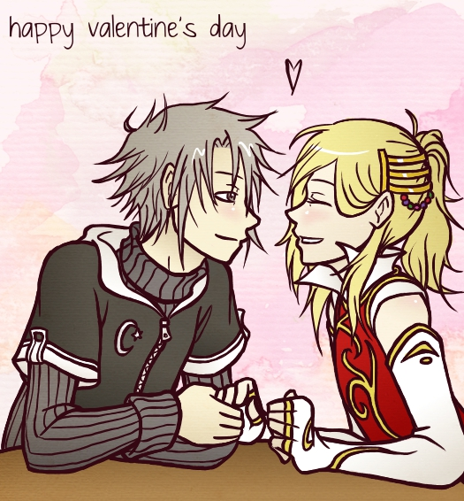 obligatory valentine's day art by kerii-tan