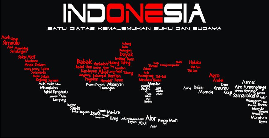 Indonesia Satu by Emilleart