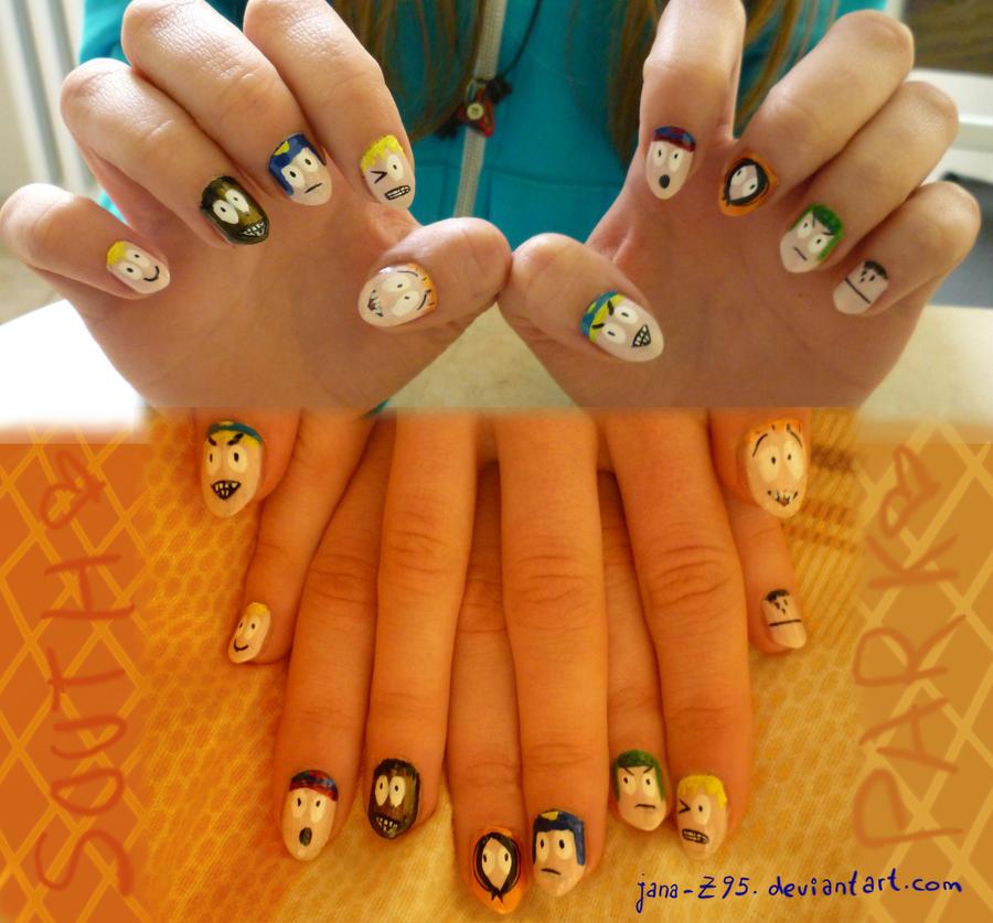 South Park Nails 2 by jana-Z95