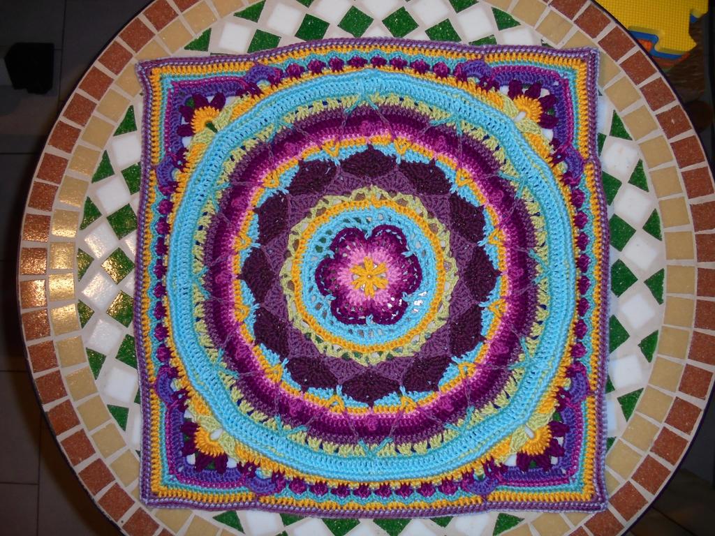 Crochet Mandala by Bearskitchen