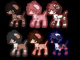 Freebies Doggos [closed] by Mehmuahah