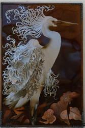Great White Egret by Iron-Rhapsody