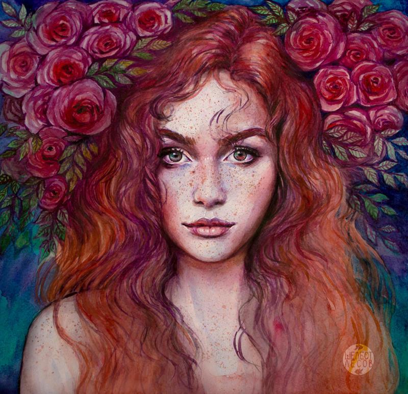 Розы RustlingWoods