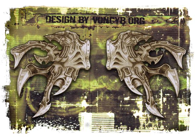 Biomechanical tattoo designs for sale