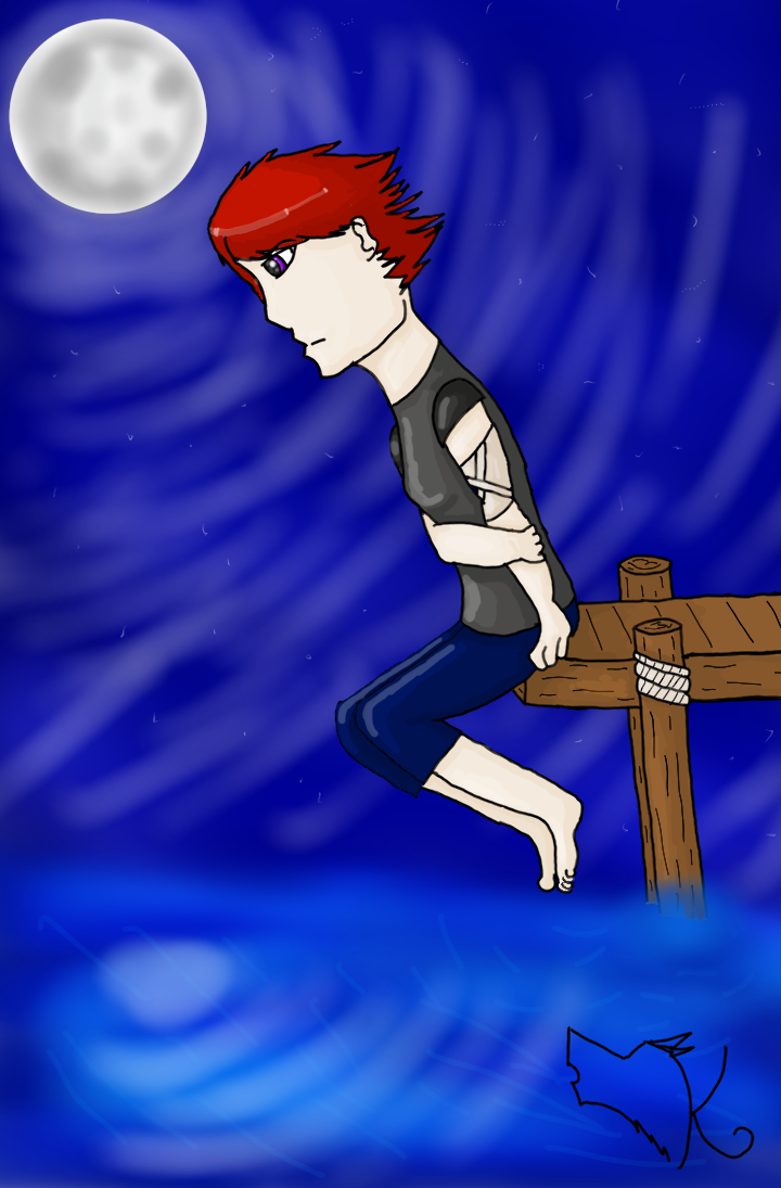 Night on the pier by HungerGamesTribute45