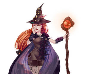 Halloween is coming on AS/McL by ChiNoMiko