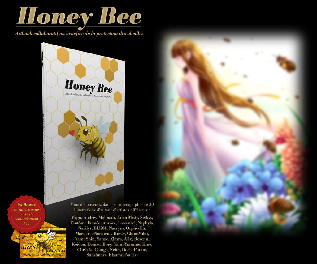 HoneybeeBee charity artbook